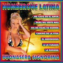Numberone Latina - CD Audio