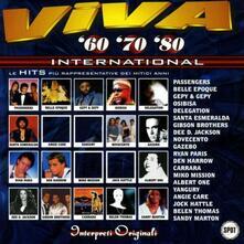 Viva 60 70 80 International - CD Audio