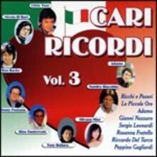 Cari ricordi vol.3 - CD Audio