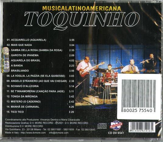 Musica latino americana - CD Audio di Toquinho - 2