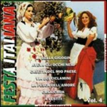 Festa italiana vol.4 - CD Audio