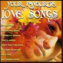 Your Favourite Love Songs - CD Audio