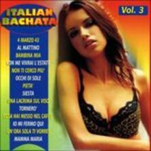 Italian Bachata vol.3 - CD Audio