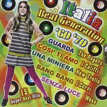 Italia Beat Generation 60-70 - CD Audio