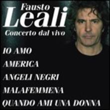 Concerto dal vivo - CD Audio di Fausto Leali