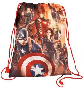 Cartoleria Zaino piatto Avengers Explosion Coriex