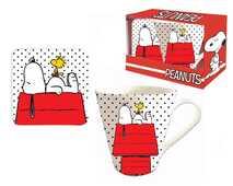 Idee regalo Set Tazza+Sottobicchiere Peanuts Coriex