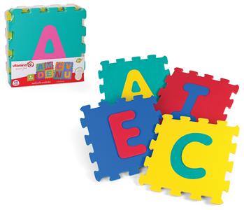 Giocattolo Tappetino Puzzle Lettere Globo