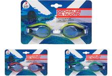 (Xe)Occhialini Da Nuoto In Pvc 3Col