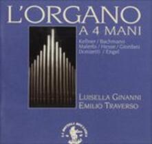 L'organo a 4 Mani (Digipack) - CD Audio