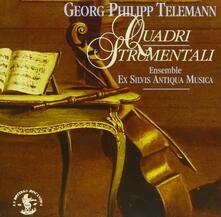 Quadri strumentali - CD Audio di Georg Philipp Telemann