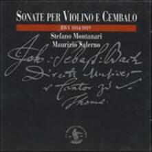 Sonate per violino e cembalo - CD Audio di Johann Sebastian Bach