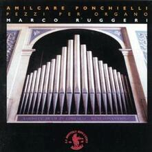 Pezzi per organo - CD Audio di Amilcare Ponchielli