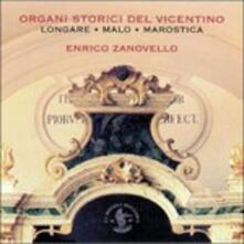 Organi Storici Del Vicentino (Digipack) - CD Audio di Enrico Zanovello