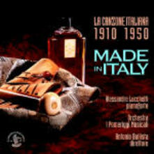 Made in Italy. La canzone italiana per pianoforte concertante e orchestra - CD Audio