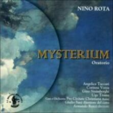 Mysterium. Oratorio per soli, coro, coro di voci bianche e orchestra - CD Audio di Nino Rota