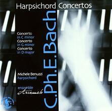 Concerti per clavicembalo WQ6, WQ37, WQ18 - CD Audio di Carl Philipp Emanuel Bach