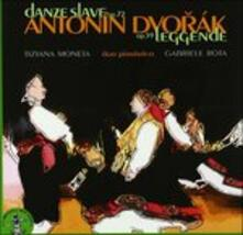 Danze Slave op.72 - Leggende op.59 - CD Audio di Antonin Dvorak