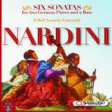 Sonate per 2 traversieri e basso continuo - CD Audio di Pietro Nardini
