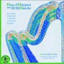 Duo d'Harpes au XVIII Siècle - CD Audio