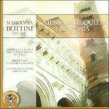 Messa da Requiem - Sinfonia in Do - CD Audio di Marianna Bottini