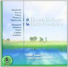 Il flauto italiano - CD Audio di Sergio Zampetti