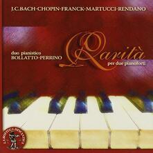 Rarità per 2 pianoforti - CD Audio di Duo Pianistico Bollato-Perrino