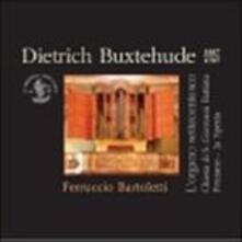 L'organo settecentesco - CD Audio di Dietrich Buxtehude,Ferruccio Bartoletti