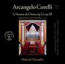 Sonate da chiesa op.1, op.3 - CD Audio di Arcangelo Corelli