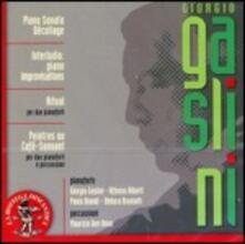 Décollage - Ritual - Piano Improvvisation - Peintres au Café-Sonnant - CD Audio di Giorgio Gaslini