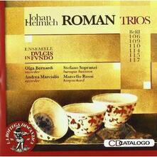 Trii BeRi 106, 109, 110, 114, 115, 117 - CD Audio di Johan Helmich Roman