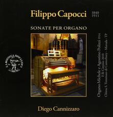 Sonate per Organo - CD Audio di Filippo Capocci,Diego Cannizzaro