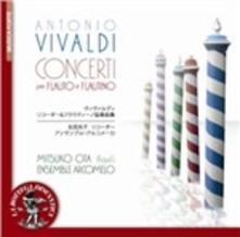 Concerti per flauto e flautino - CD Audio di Antonio Vivaldi