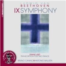 Sinfonia n.9. Trascrizione per 2 pianoforti - CD Audio di Ludwig van Beethoven