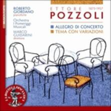 Allegro di Concerto - Tema con Variazioni - CD Audio di Ettore Pozzoli