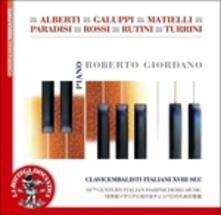 Clavicembalisti italiani del XVIII secolo - CD Audio