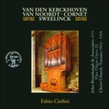 Fantasia in Fa - Fantasia in Re - Preludio - CD Audio di Fabio Ciofini,Abraham Van Den Kerckhoven