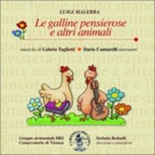 Le galline pensierose e altri animali - CD Audio di Gabrio Taglietti
