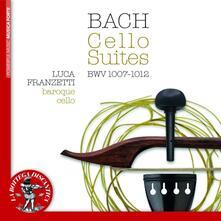 Suites per violoncello solo - CD Audio di Johann Sebastian Bach,Luca Franzetti