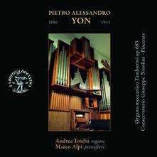 Musica per organo - Musica per organo e pianoforte - CD Audio di Andrea Toschi,Pietro Alessandro Yon