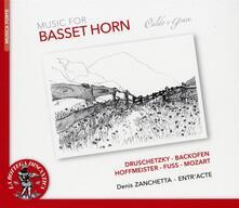 Musica per corno di bassetto - CD Audio di Denis Zanchetta