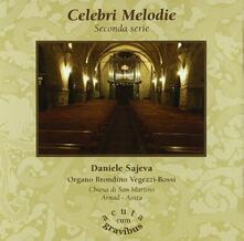 Celebri melodie - CD Audio di Daniele Sajeva
