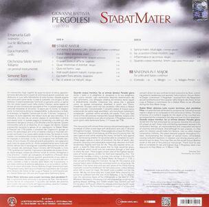 Stabat Mater - Sinfonia in Fa - Vinile LP di Giovanni Battista Pergolesi - 2