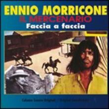 Il Mercenario. Faccia a Faccia (Colonna Sonora) - CD Audio di Ennio Morricone