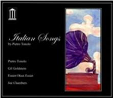 Italian Songs - CD Audio di Pietro Tonolo