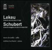 CD Sonata per violoncello in Fa / Sonata Arpeggione Franz Schubert Guillaume Lekeu Andrea Lucchesini