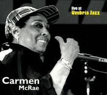 Live at Umbria Jazz - CD Audio di Carmen McRae