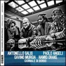 Giornale di bordo - CD Audio di Antonello Salis,Paolo Angeli,Hamid Drake,Gavino Murgia