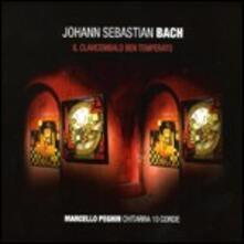 Il clavicembalo ben temperato (Trascrizione per chitarra 10 corde) - CD Audio di Johann Sebastian Bach,Marcello Peghin