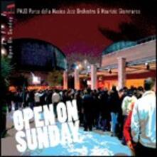 Open on Sunday - CD Audio di Parco della Musica Jazz Orchestra,Giammarco Maurizio